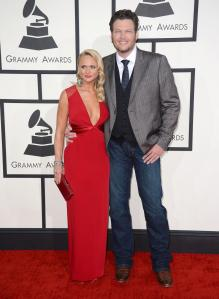 grammy favs - miranda and blake
