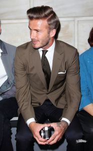 men's style - david beckham