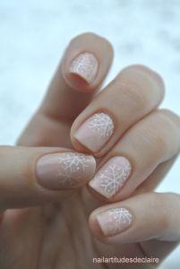 wintery nails