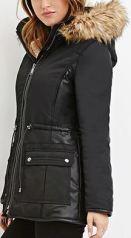 puffer jacket - f21